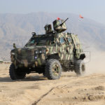 Guardian MAX LPV MRAP drive test