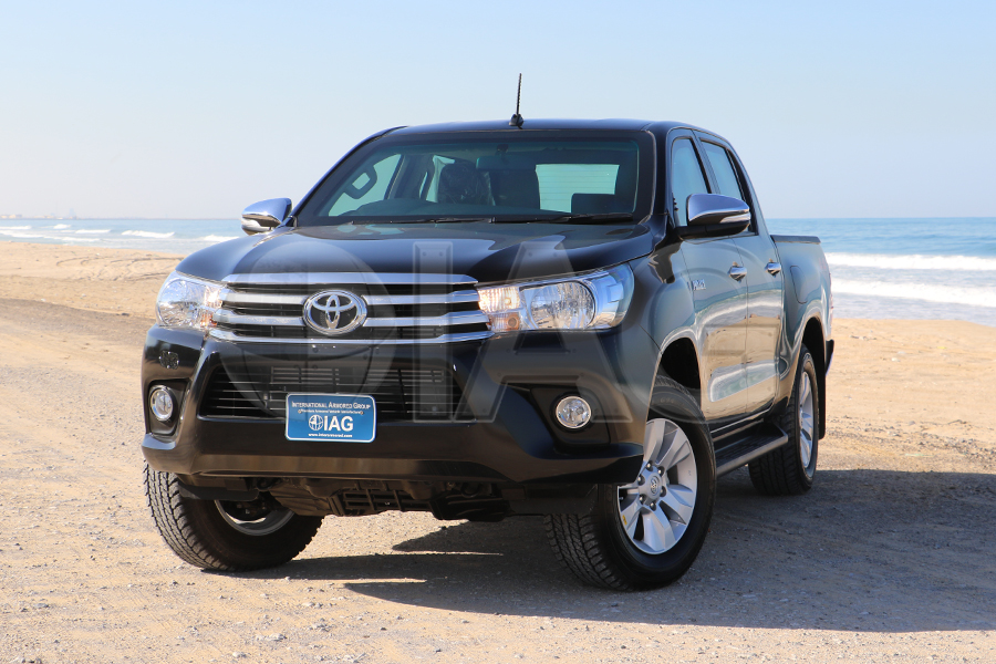armored toyota hilux