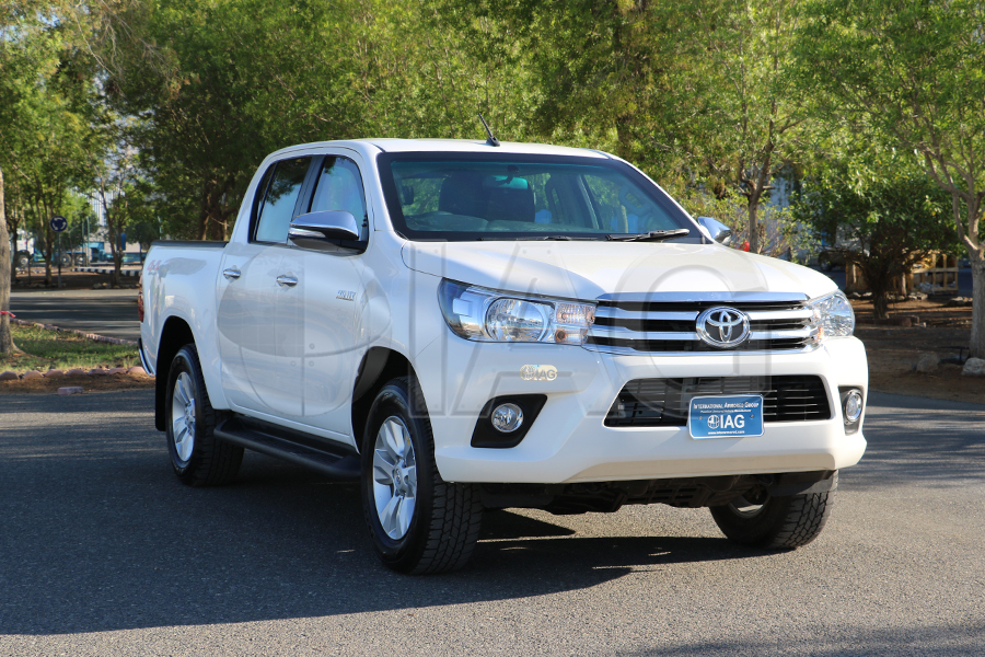 toyota hilux private security