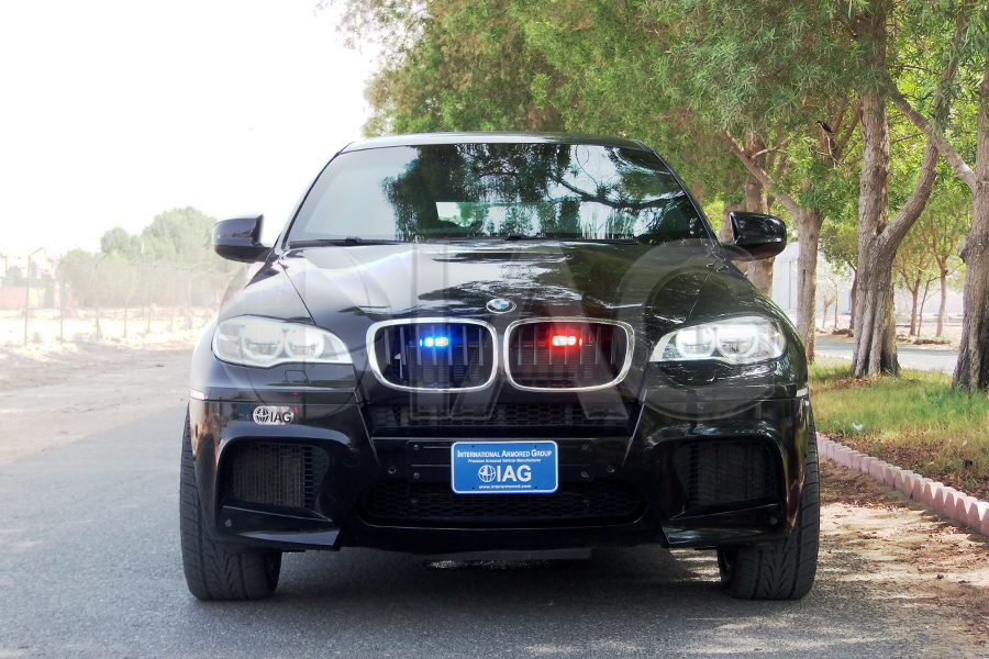 bmw x6 strobe lights