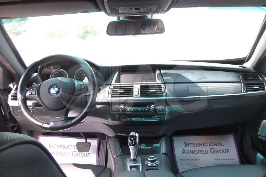 bmw x6 navigation board interior