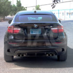 bmw x6 sav rear image