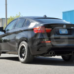 bmw x6 side view tires
