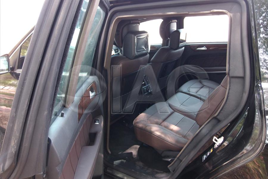 mercedes benz gl suv luxury interior