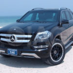 armored Mercedes Benz GL seaview
