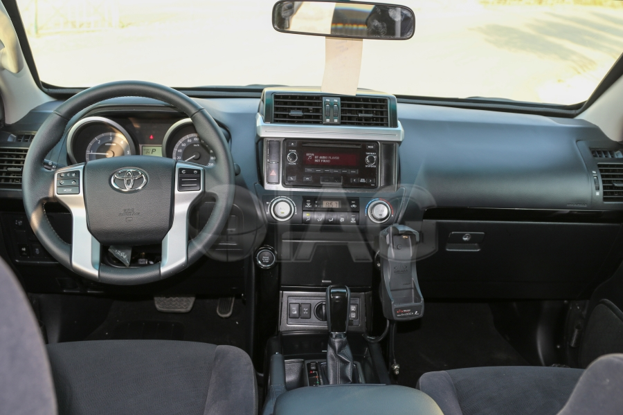 prado driver command cabin