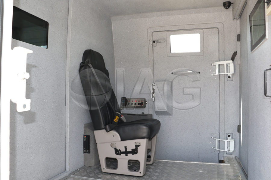 iveco CIT guard seating