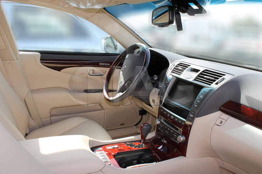 Lexus LS460 Armored OEM Interior