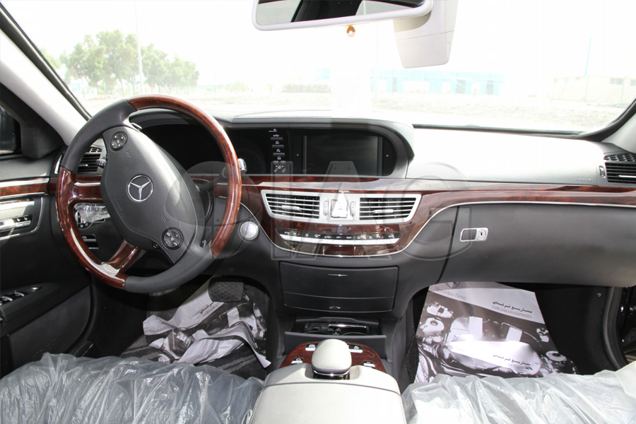 Mercedes Benz S Class Armored OEM Interior