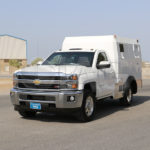 armored Chevrolet Silverado modular box