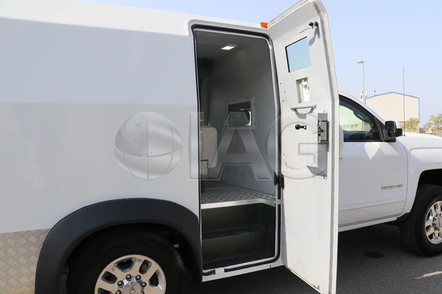Chevrolet Silverado CIT gun ports