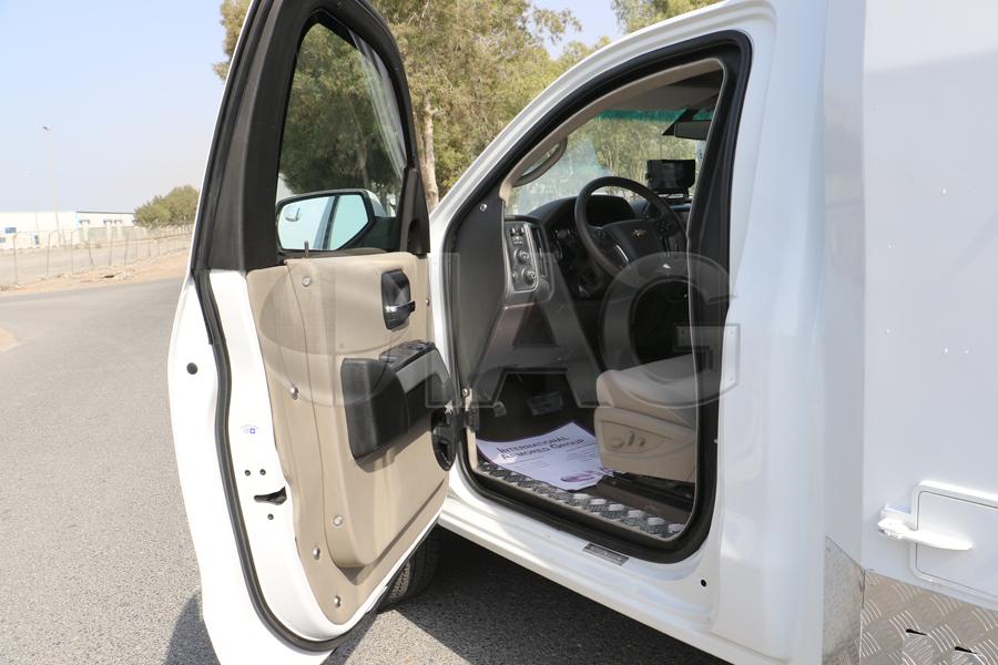 Chevrolet Silverado CIT ballistic driver door