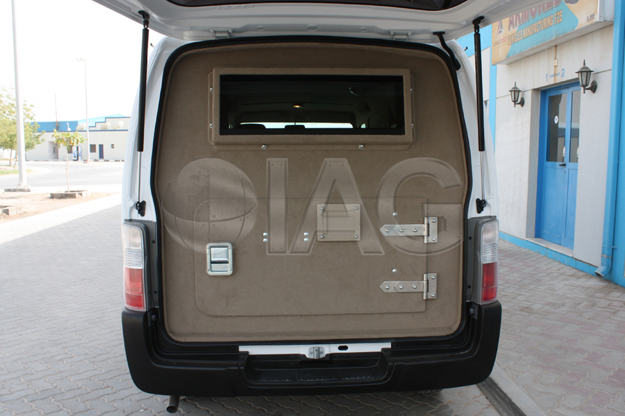 nissan urvan door upgrades
