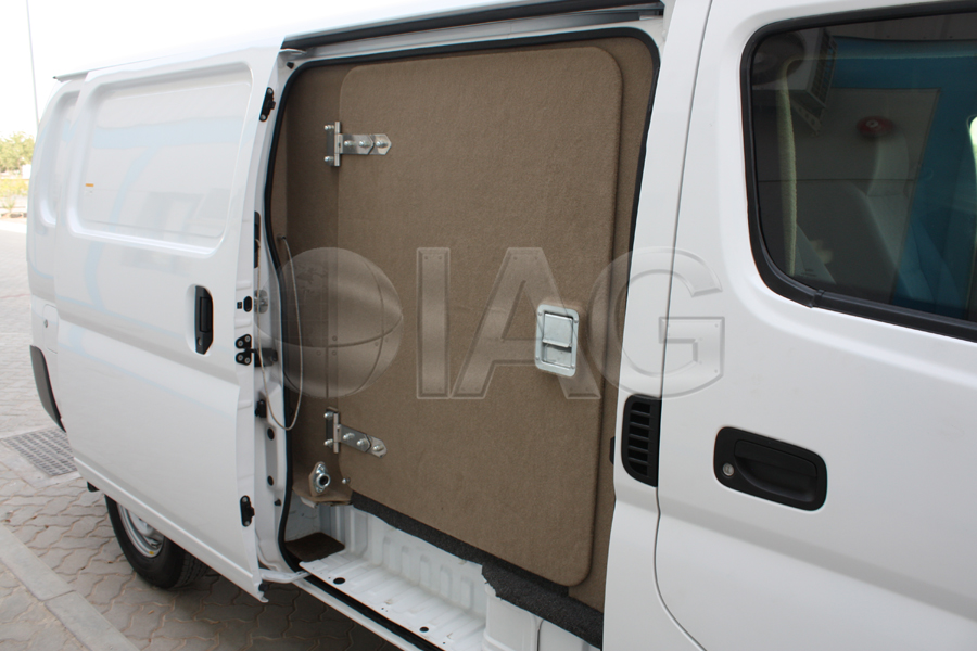 nissan urvan blast protection