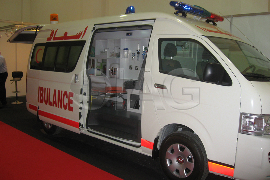 Nissan Urvan Armored Ambulance