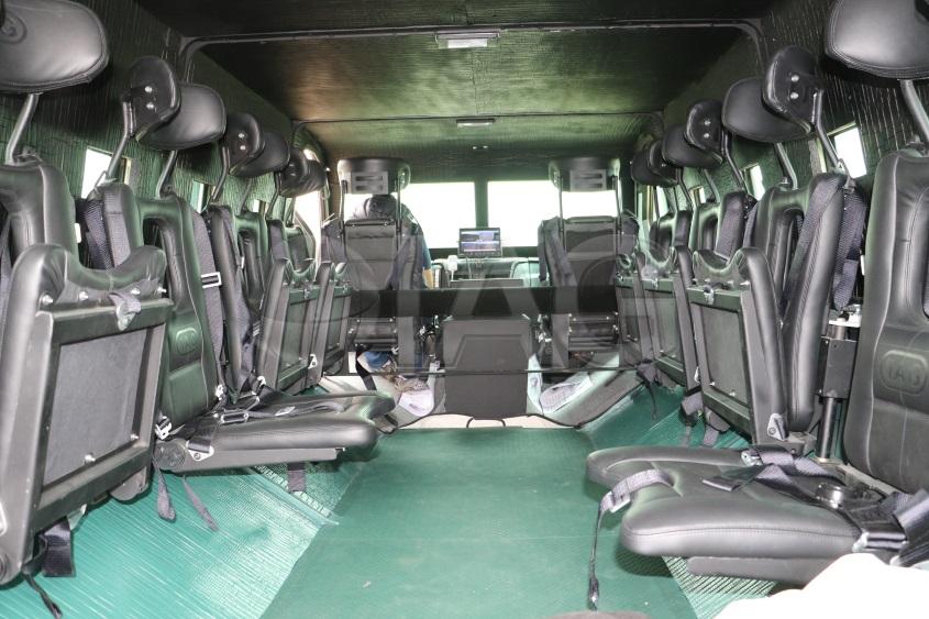 Rila MRAP APC interior