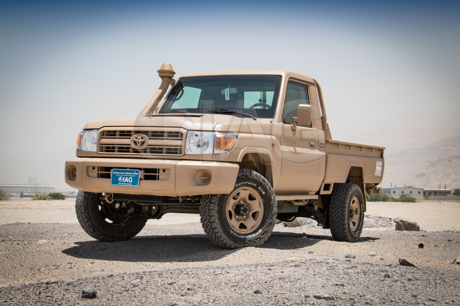 armored tlc 79 series pick up