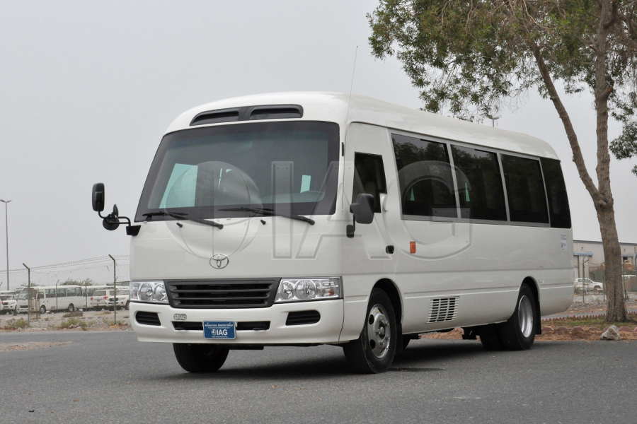 toyota coaster armored minibus