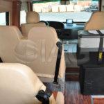toyota coaster custom interior