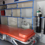 Toyota Hiace Ambulance Patient Compartment Stretcher