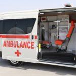 Toyota Hiace Ambulance Upgraded sliding doors