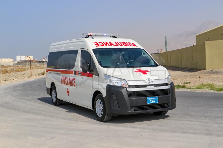 toyota hiace ambulance urban solution