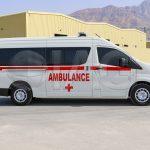 Toyota Hiace Ambulance Ballistic Glass