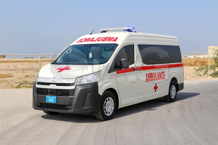 Toyota Hiace Armored Ambulance