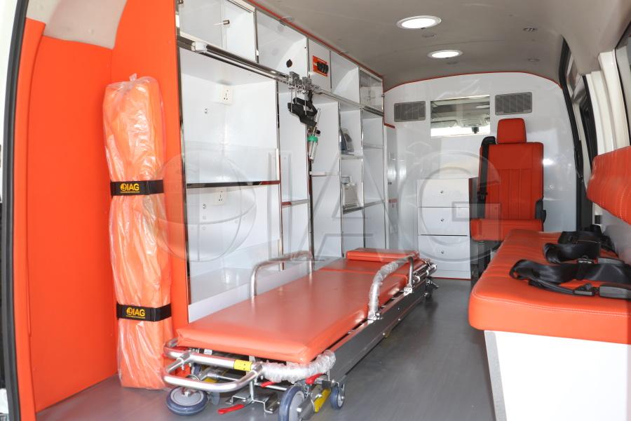 Toyota Hiace Ambulance Patient Compartment Stretcher