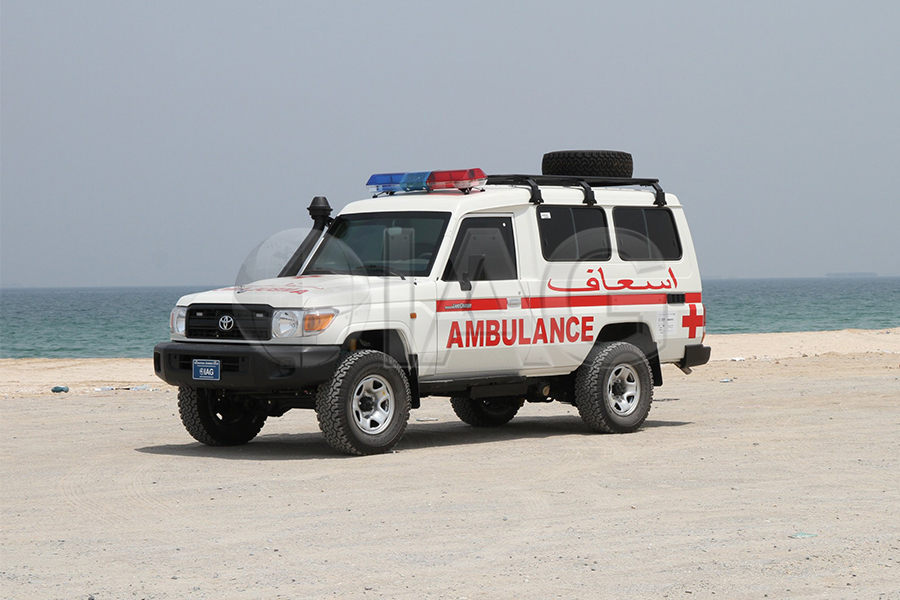 toyota lc 78 series ambulance upgrades