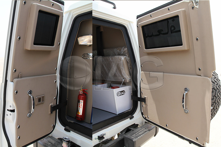 toyota lc 78 ambulance vehicle upgrades