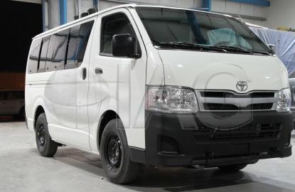 toyota hiace armored van