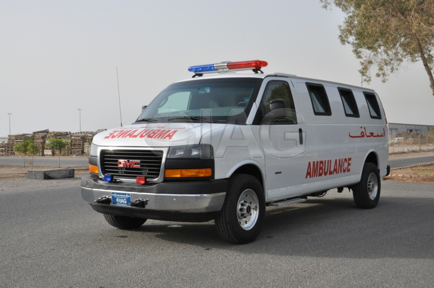 International Armored Group Gmc Savana Ambulance