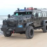 armored rescue vehicle