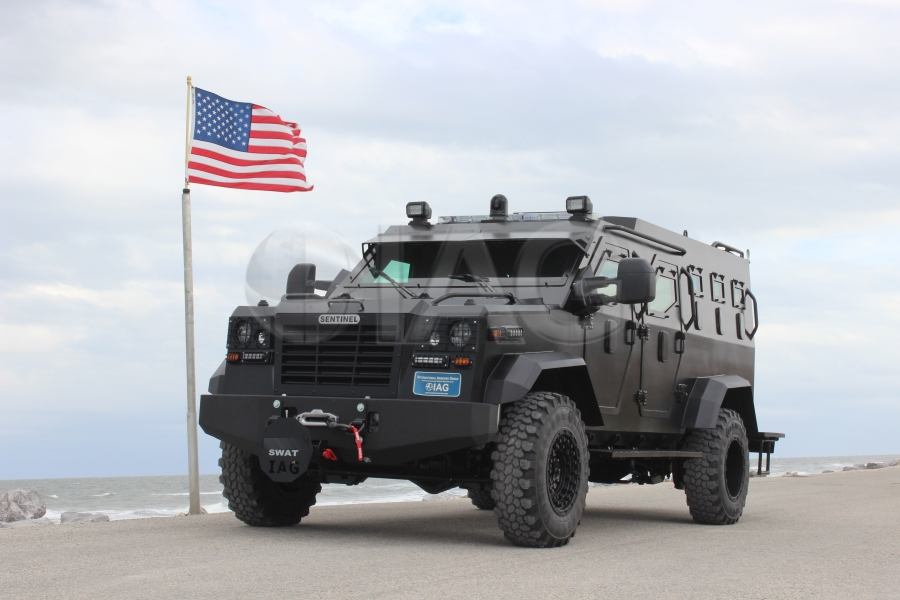 sentinel arv swat usa flag