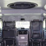 sentinel arv interior seats and turret