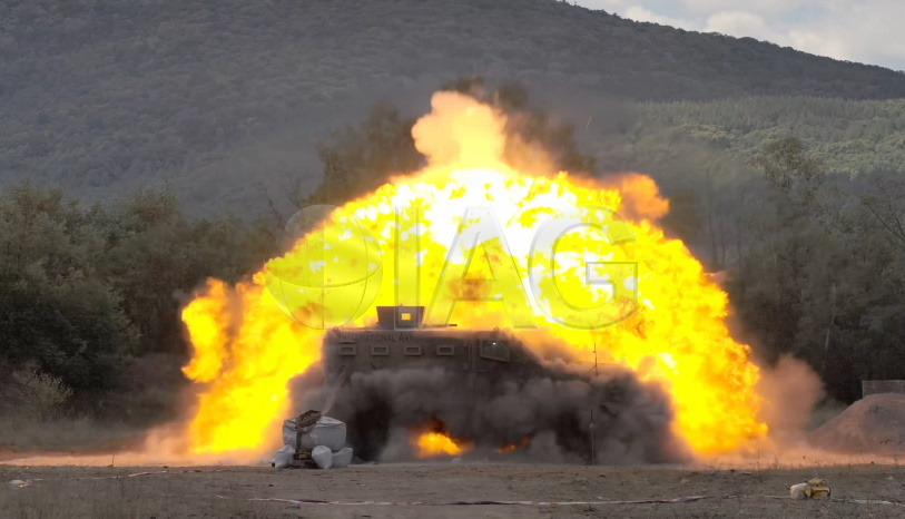 rila xtreme stanag testing blast