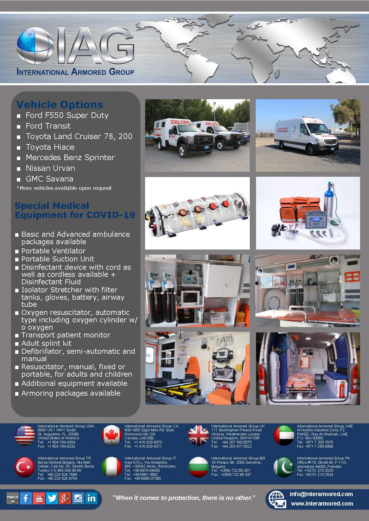 COVID-19 Ambulance Package