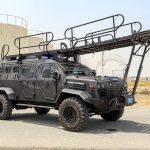 guardian tactical ladder system Armored Elevated vehicle