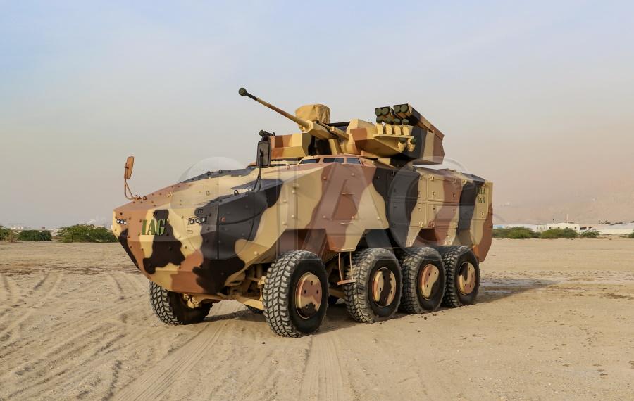 RILA STANAG 4 armored vehicle