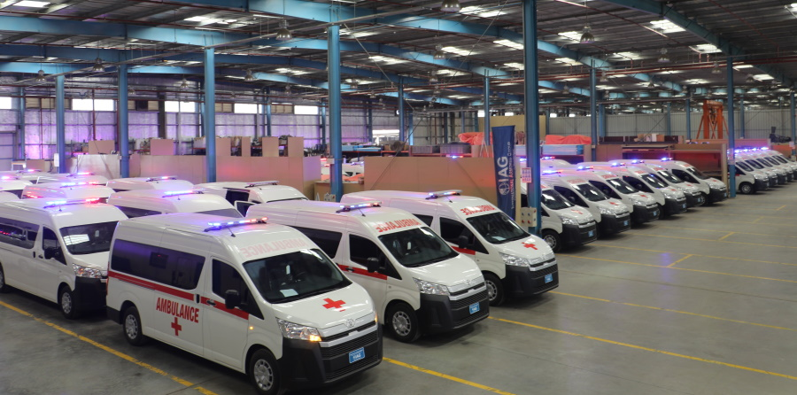 armored ambulance fleet